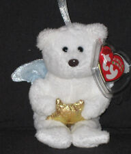 TY STAR the BEAR JINGLE BEANIE BABY - MINT with MINT TAG - PRICE STICKER