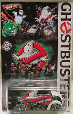 "Hot Wheels CUSTOM DAIRY DELIVERY ""Ghostbusters"" Real Riders LTD 1 of 10 Made!!!"