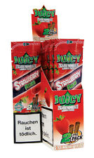 "1 Box (50x) Juicy Jays Double Blunt ""Strawberry Fields"" Blunts Erdbeere"