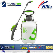 Hills 5Ltr Sprayer Professional New Model Two Nozzles 5L Chemical Garden & Pets
