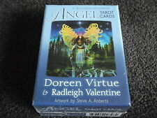 ANGEL TAROT CARDS Doreen Virtue & Radleigh Valentine 78 Card Deck &  Guidebook
