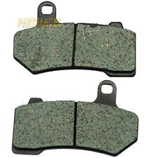 Rear Kevlar Carbon Brake Pads - 2008 2009 HARLEY FLHRC Road King Classic