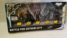 Batman Dark Knight Rises Battle For Gotham City Figure Set MIB Target Exclusive!