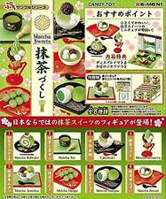 Re-Ment Petit Sample Matcha Sweets Miniature Complete Set Box (26c 4834)