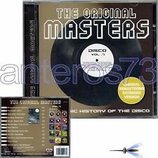 THE ORIGINAL MASTERS 7 CD DISCO EXTENDED VERSIONS ITALO