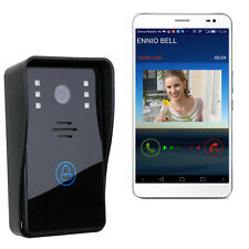 WiFi Wireless Video Door Phone Intercom System IR Night Vision for Android & ios