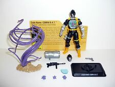 GI JOE COBRA BAT 25th Anniversary Figure ROC COMPLETE w/FILE CARD C9+ v21 2009