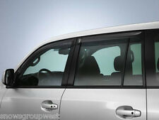 Genuine Toyota Land Cruiser Amazon Wind Deflectors Full Set 08611-60840 New