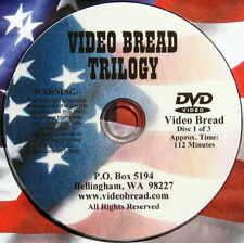 Artisan Bread Baking Class -7 hrs -4 DVD set, 0/All Rated G Educational pan LLL