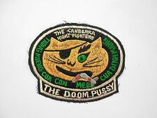 Patch - DOOM PUSSY - CANBERRA NIGHT FIGHTER - USAF
