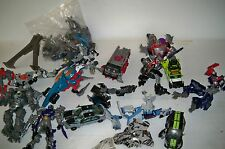 Lot of 12 Transformers Mixed Types and some other action figures