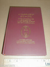 History 1901-2001 First Reformed United Church of Christ Lexington NC #'d book