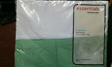NEW Sheridan Single bed BEDSKIRT VALANCE GREEN...