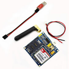 New SIM900A Extension Module GPRS GSM Board Antenna W/USB TTL 5Pin Dupont Cable