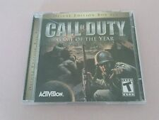 PC CD-ROM CAll OF DUTY GAME OF THE YEAR DELUXE EDITION - Win 98/ME/2000/XP