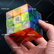 Transparent MoYu Ao Long Crystal Speed 3x3x3 Magic Cube (Weilong V3) Aolong 57mm
