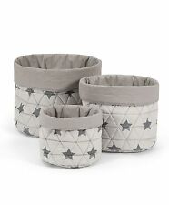 Mamas & Papas - Star Nursery Baskets - Set of 3