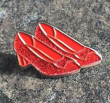 WIZARD OF OZ DOROTHY RED SHOES SLIPPERS ENAMEL PIN BADGE | RARE COLLECTORS