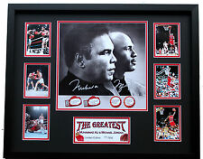 New Michael Jordan Chicago Bulls Muhammad Ali Signed Limited Edition Memorabilia