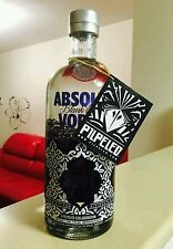 Absolut Blank V3 PILPELED Vodka 0.75 liter 750 ML Tel Aviv FULL Bottle+ LAST TAG