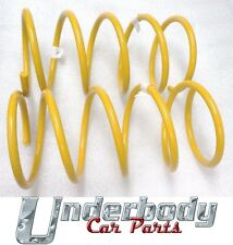 FRONT SUPER LOW COIL SPRINGS HOLDEN COMMODORE VT VX VY VZ SEDAN V8 1998-7/2006