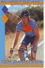 CYCLISME carte cycliste TOM DANIELSON équipe SLIPSTREAM 2008