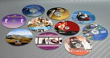 10x Personalized Blu-Ray BD-R Disc 25GB 4x-Speed Image Printing Laser Ink Jet