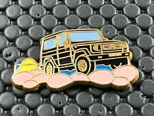 pins pin BADGE CAR MERCEDES 4X4  ARTHUS BERTRAND