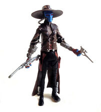 "STAR WARS Clone Wars CAD BANE Bounty Hunter 3.75"" action figure toy NICE!"