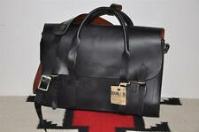Ralph Lauren RRL Saddle Leather Doctor's Executive Briefcase Bag
