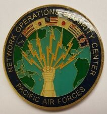 USAF NSA CSS Network Operations Security Center PACAF - Pacific Warfighter Coin