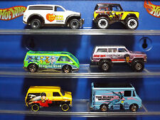 Hot Wheels Lot of 6 Custom Modified Garage, Pop Culture Trucks & Vans  Lot # 3