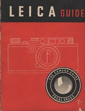Leica Camera Guide Original User Manual Focal Press