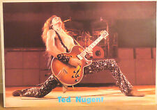 (PRL) 1978 TED NUGENT PHOTO LONDON WIZARD VINTAGE AFFICHE PRINT ARTE POSTER ART