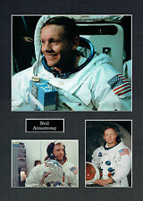 Neil ARMSTRONG Apollo 11 16x12 Mounted Photo Astronaut Space Montage