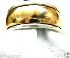 James Avery Wide Hammered Band Ring in JA Gift Box  22.14 Grams~  14kt/.925