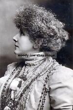 bc1030a - Stage Actress - Sarah Bernhardt - photo 6x4
