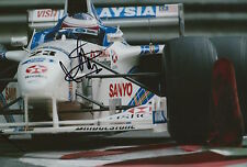 Jan Magnussen Hand Signed 12x8 Photo HSBC Stewart Ford F1 2.
