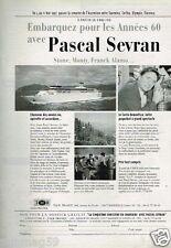 Publicité advertising 1997 Croisière Pascal Sevran bateau Costa Romantica