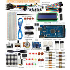 SunFounder New Lab Project Mega 2560 + Super Starter Kit For Arduino UNO R3