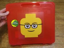 LEGO Red STORAGE CASE minifigure project container