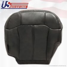 1999 2000 2001 2002 Chevy Silverado Driver Bottom Vinyl Seat Cover Graphite