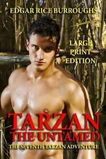 Tarzan the Untamed - Large Print Edition by Edgar Rice Burroughs (2013,...