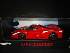 Hot Wheels Elite Ferrari FXX Evoluzione Red 1/18 Limited Edition