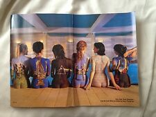 Pink Floyd 'Back Catalogue' A3 Magazine Poster Storm Thorgerson