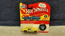 Vintage Series II Hot Wheels Snake Funny Car Enamel Yellow *MONMC*