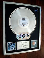 DEPECHE MODE SOME GREAT REWARD MULTI PLATINUM DISC RECORD AWARD
