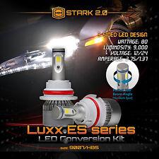 Stark LED 80W 9000LM 6000K 6K White Kit Head Light Dual Hi / Lo - 9007 HB5
