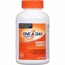 One A Day Women's Multivitamin/Multimineral Supplement Tablets, 200 count