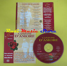 CD CANZONI D'AMORE compilation PROMO 1996 CHARLES PLATTERS(C5**)no*lp mc dvd vhs